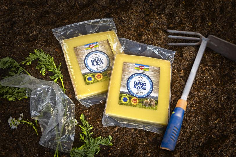 Heimkompostierbare Celluloseverpackung