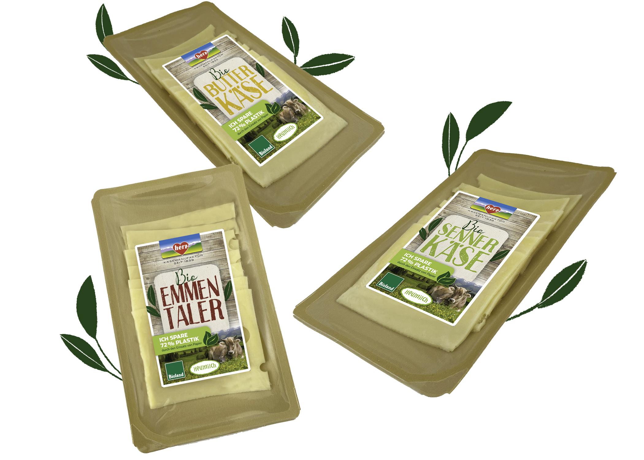 Neue Bio Käsescheiben – nachhaltig verpackt